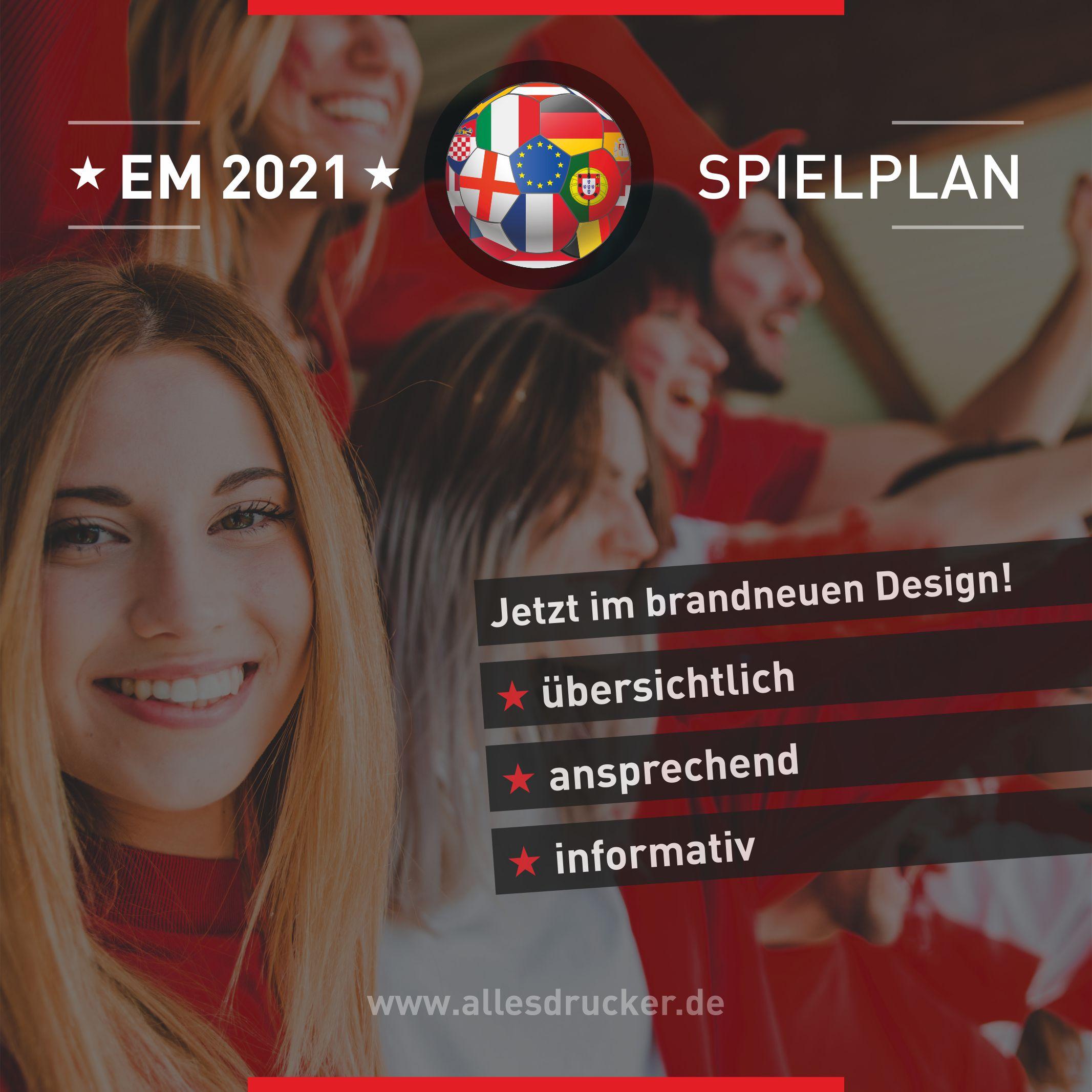 EM2021 Spielplan
